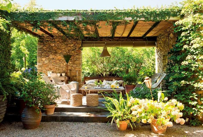 15 comedores exteriores para jard n o terraza guia de jardin for Comedores exteriores para terrazas