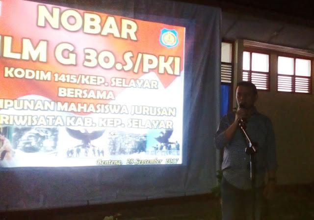 Nobar Film Penghianatan G30S/PKI, Adalah Melawan Lupa Pada Sejarah Pahit Bangsa