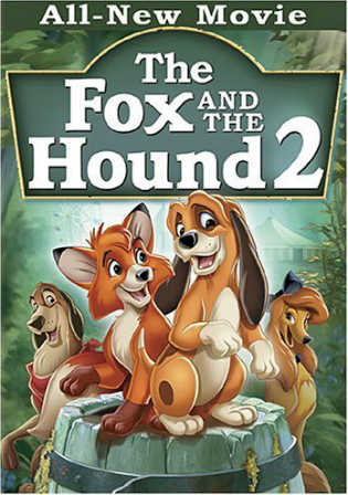 The Fox And The Hound 2 2006 BluRay 500MB Hindi Dual Audio 720p