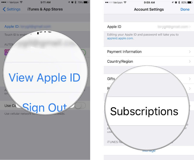 App Store ReSubscription اب ستور
