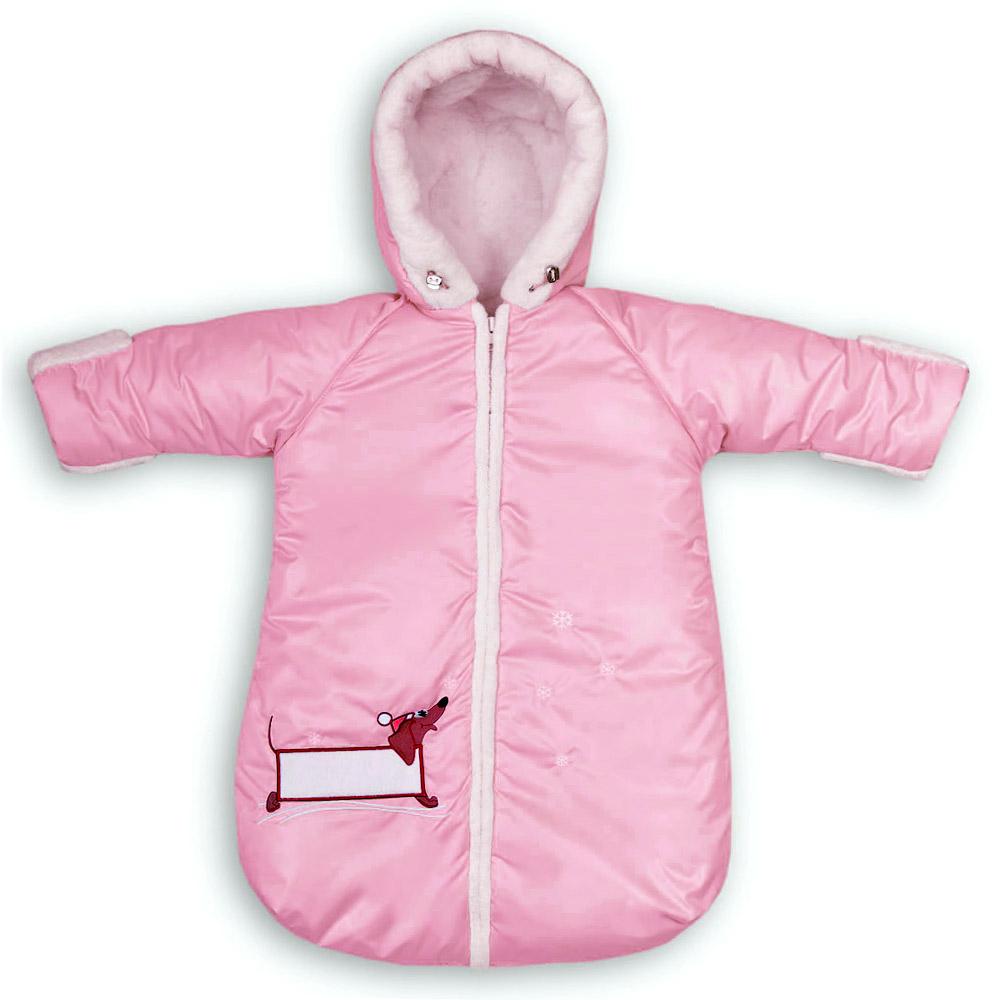 Конверт меховой зимний. Sleeping bag  for the baby