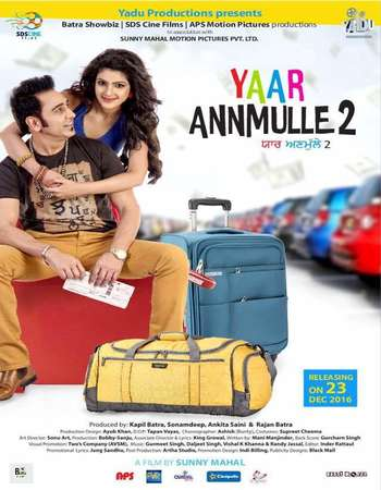 Poster Of Yaar Annmulle 2 2017 Punjabi 700MB Pre-DVDRip x264 Watch Online Free Download downloadhub.net
