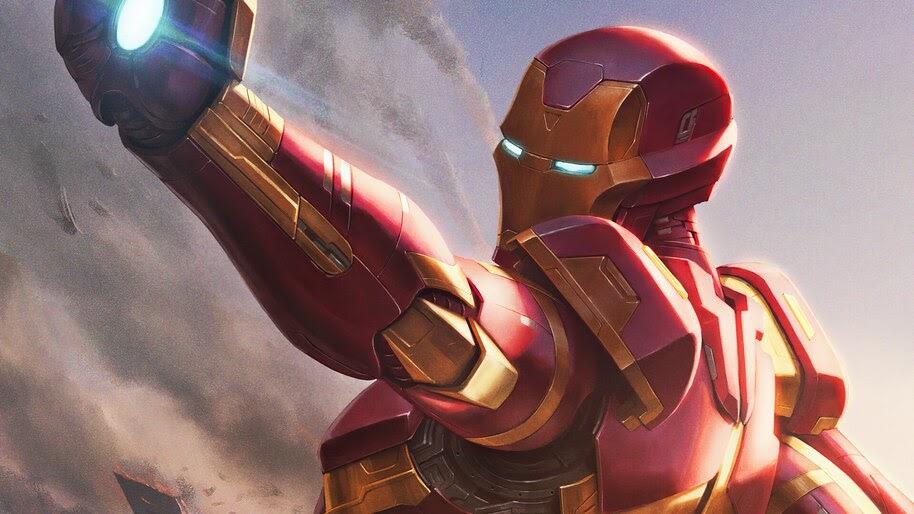 Iron Man, Marvel, Comics, Art, 4K, #6.2096