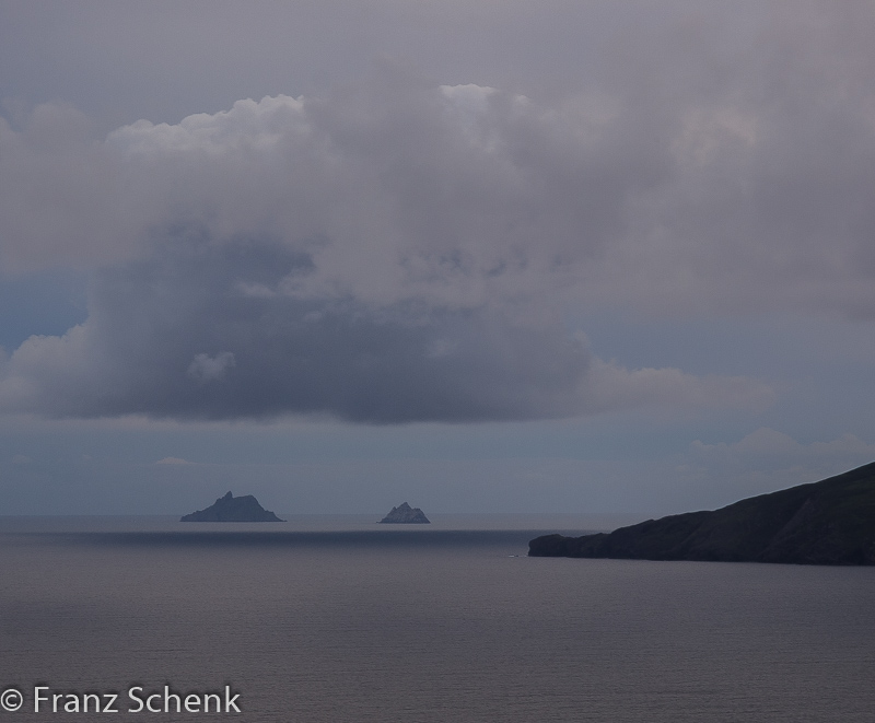 St Michael and little Skellig, Kerra