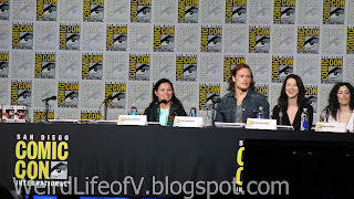 Diana Gabaldon, Sam Heughan, Caitriona Balfe, and Maril Davis