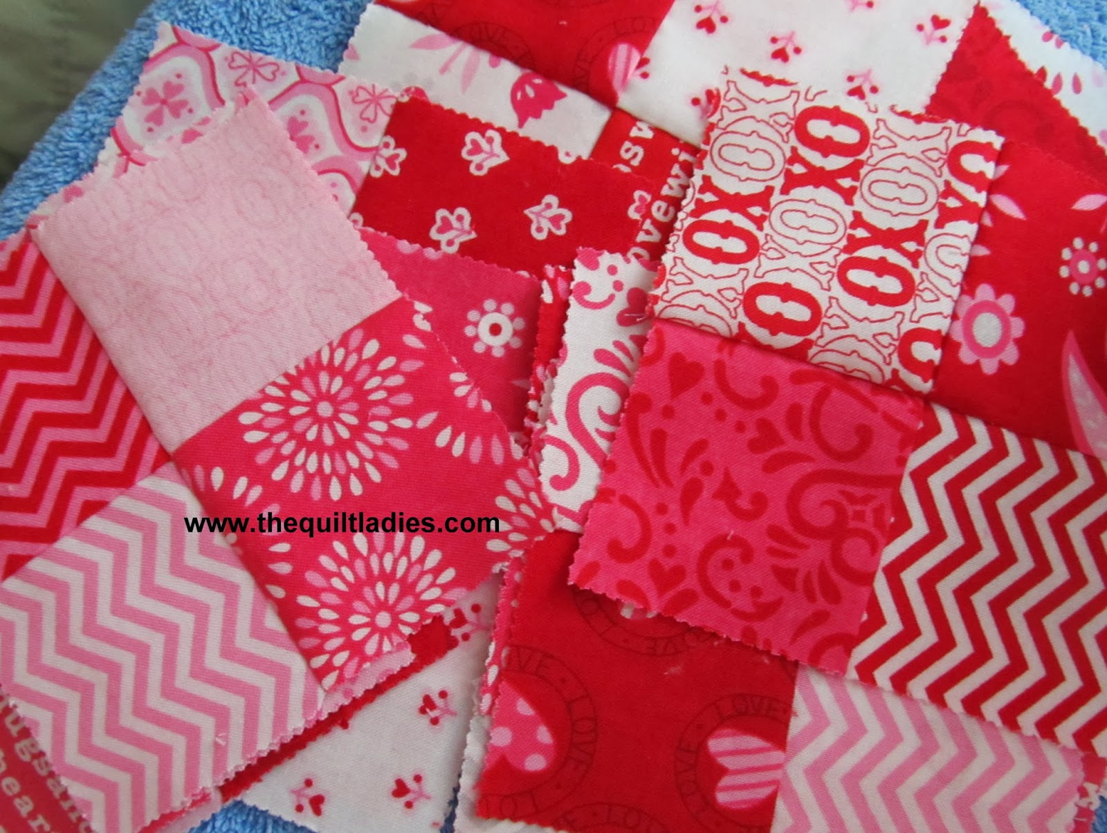how to make a four patch quilt block