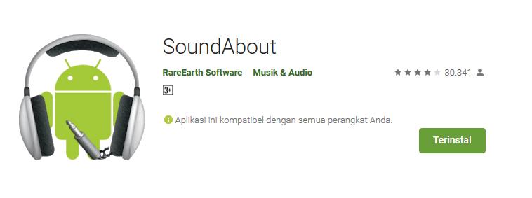 Aplikasi soundabout