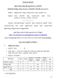 Ramnagaram Court Recruitment