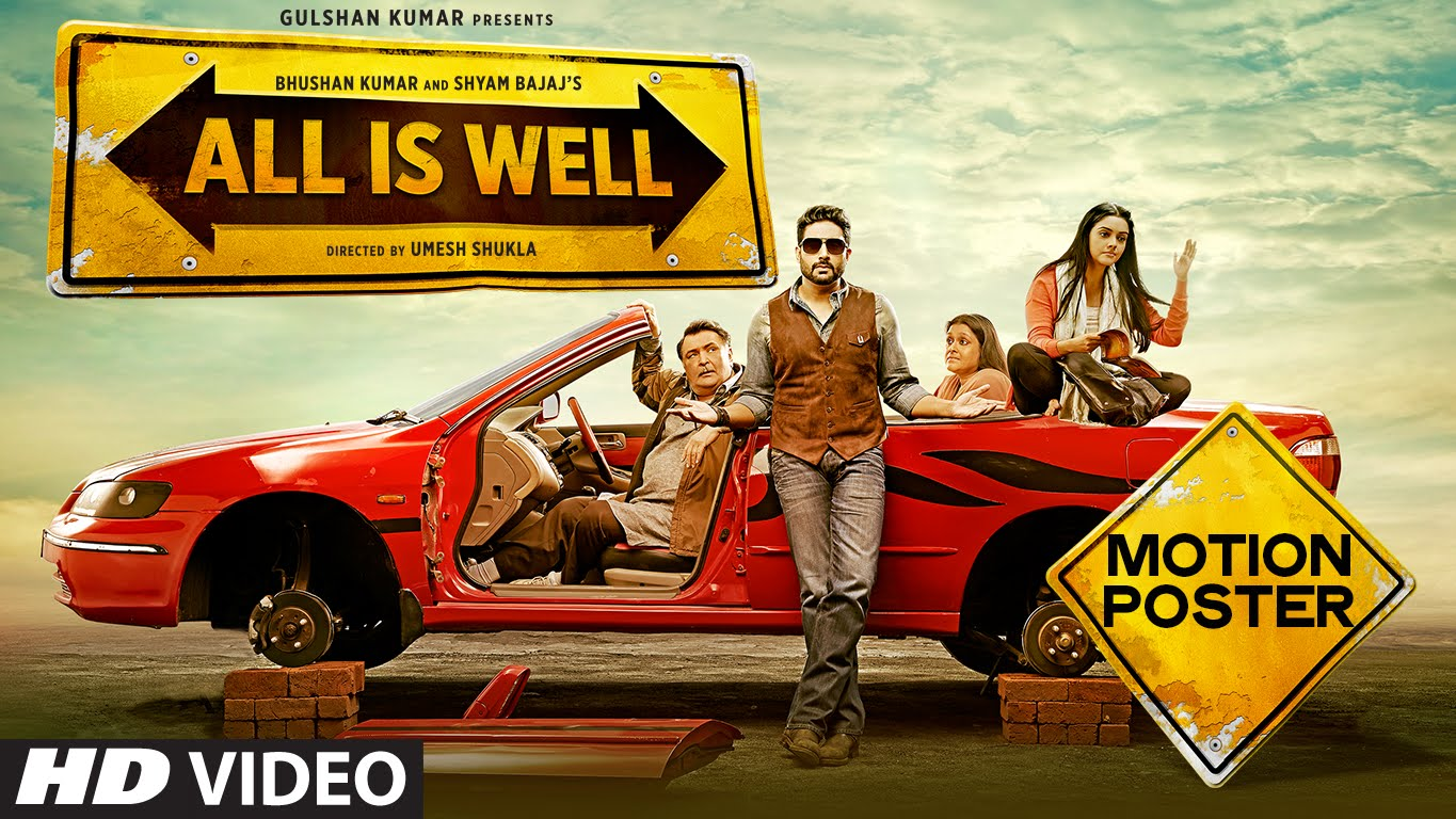 full cast and crew of bollywood movie Any All Is Well! wiki, story, poster, trailer ft Abhishek Bachchan, Asin, Rishi Kapoor