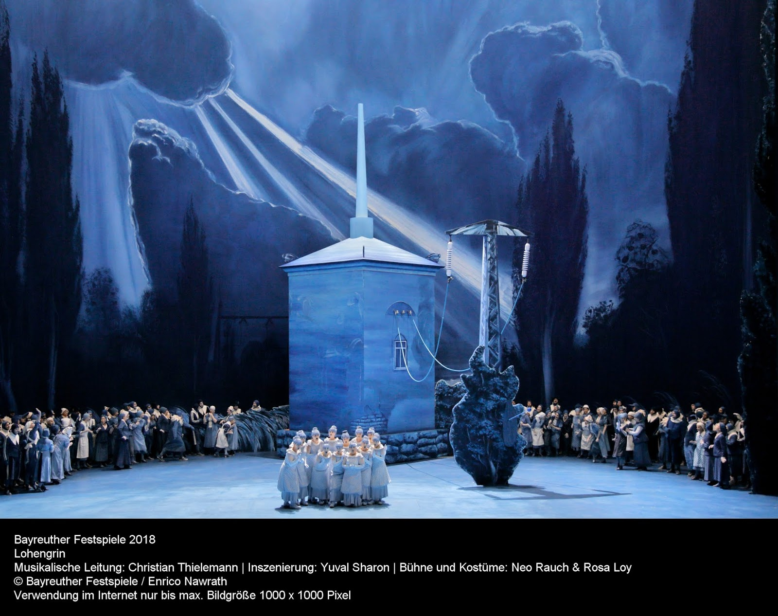 Bayreuth's new production of Lohengrin has taken the Green Hill by storm