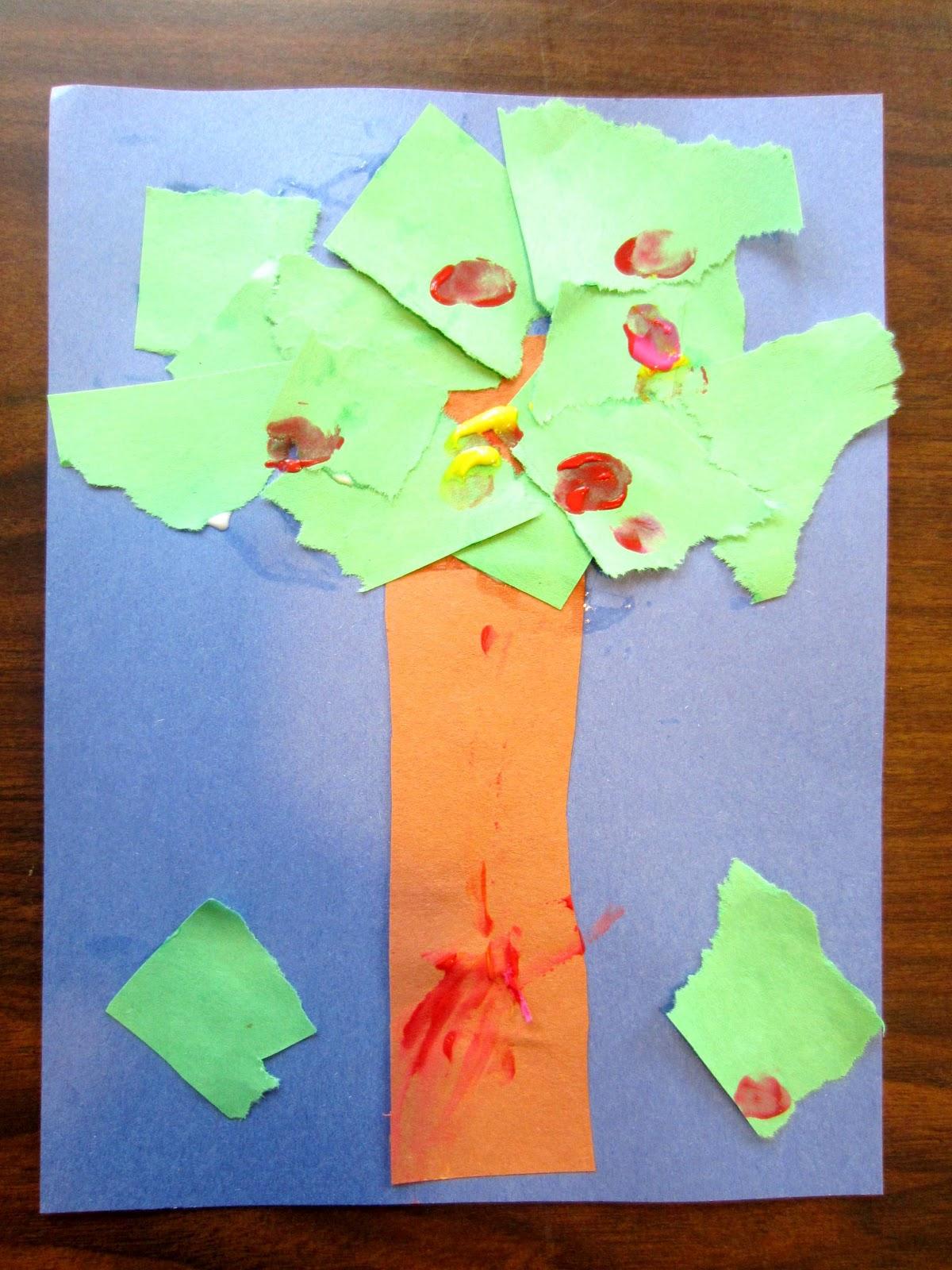 Build An Apple Tree Preschool Amp Toddler Craft