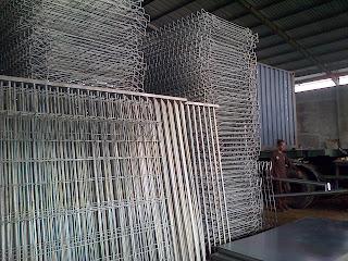 Pagar BRC (Galvanized Fence)