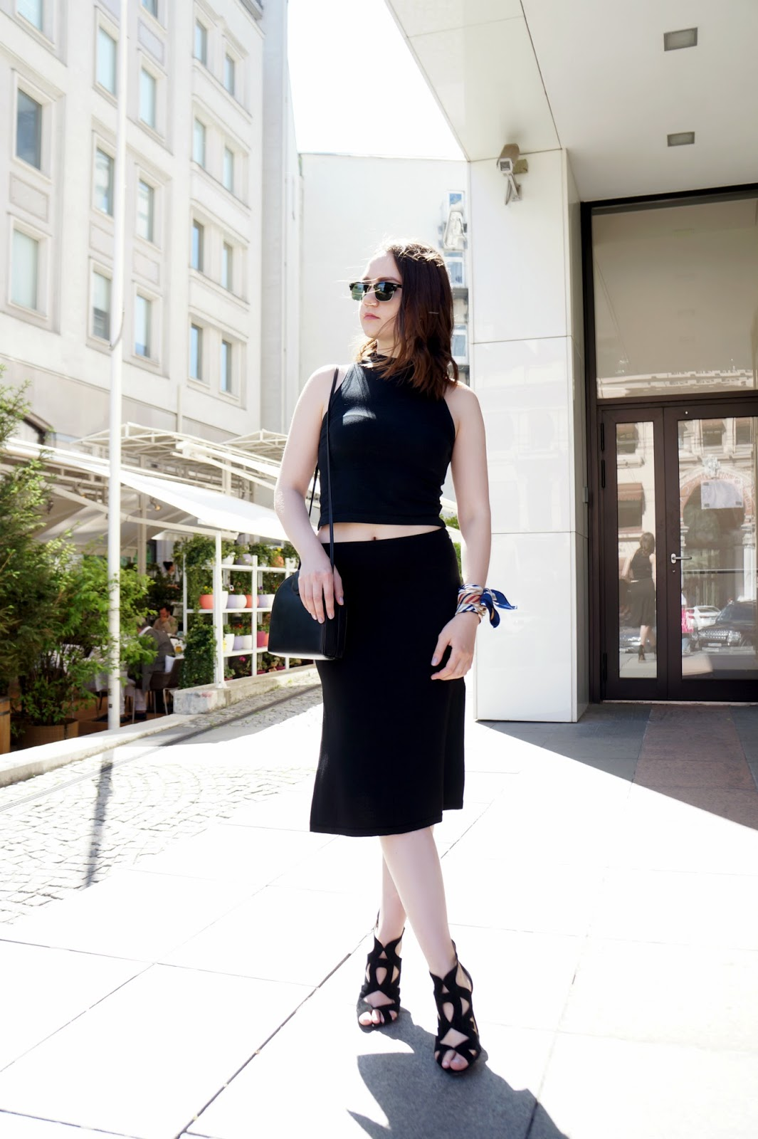 Alina Ermilova | Blogger | All Black Outfit