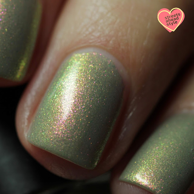 BLUSH Lacquers Theodora Delphine swatch by Streets Ahead Style