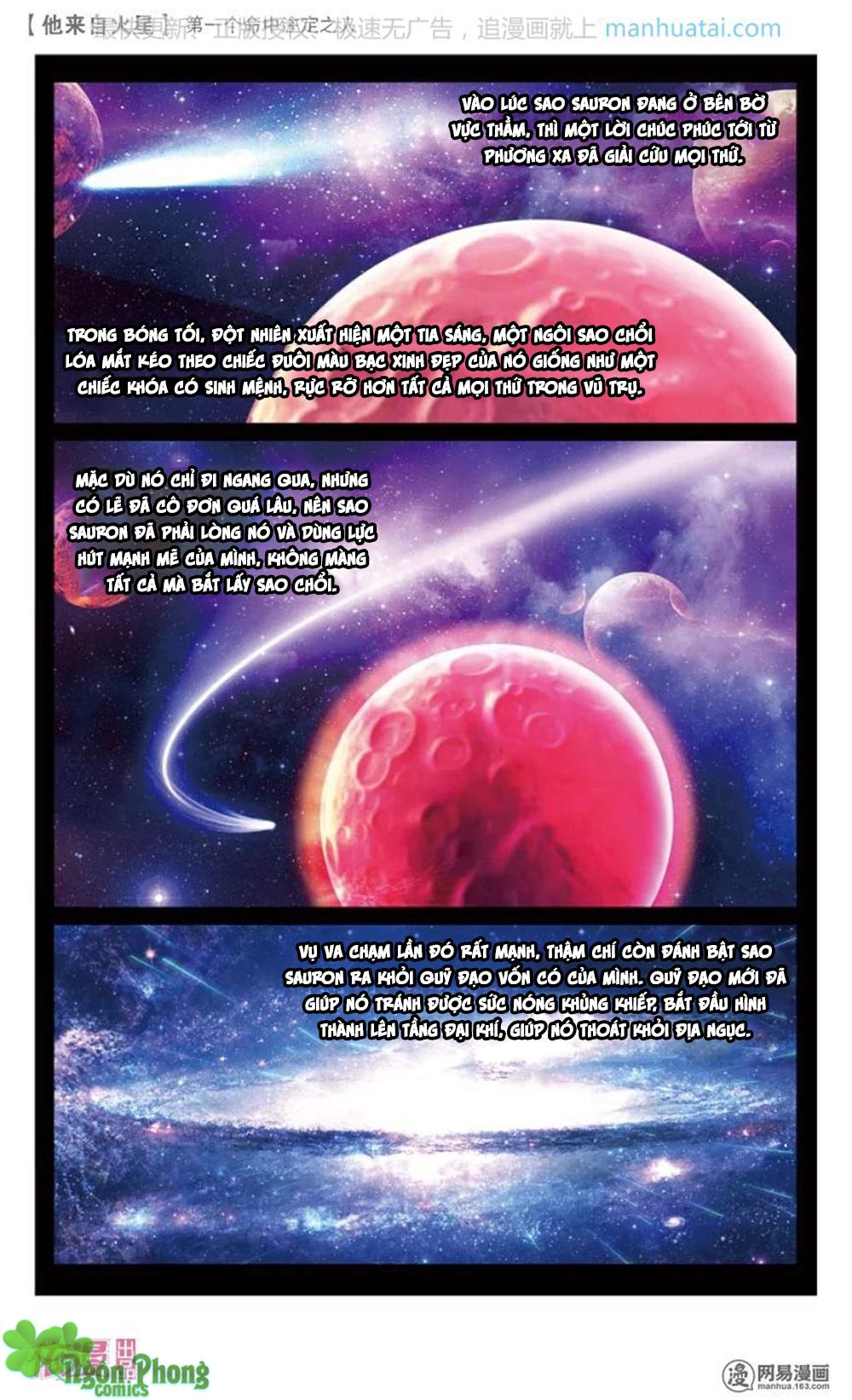 Hắn Đến Từ Sao Hỏa Chap 14 - Next Chap 15