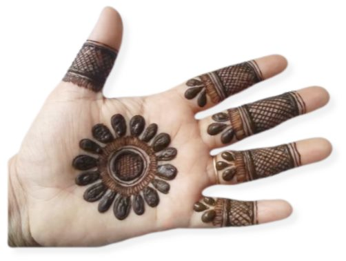Palm Mehndi Designs