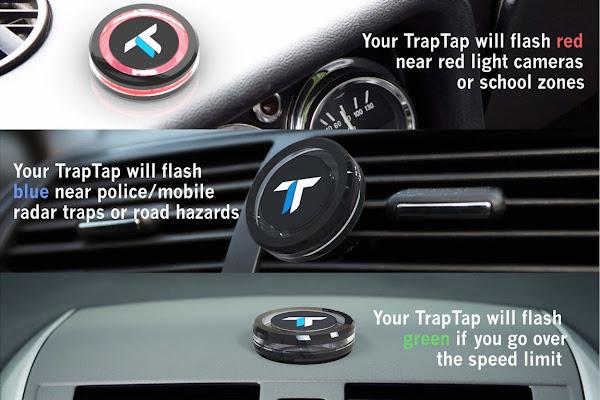 數位時代翻攝自 Trap Tap 官網