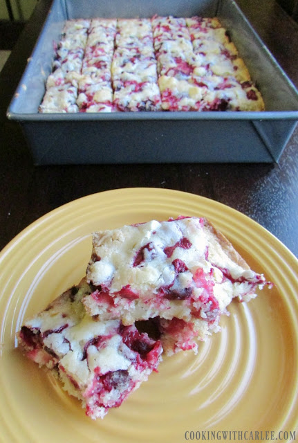 Cooking With Carlee: Cranberry Snack Cake #CranberryWeek