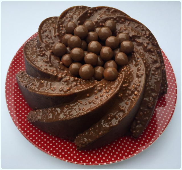 Chocolate Bundt Cake With Chocolate Pudding And Coconut