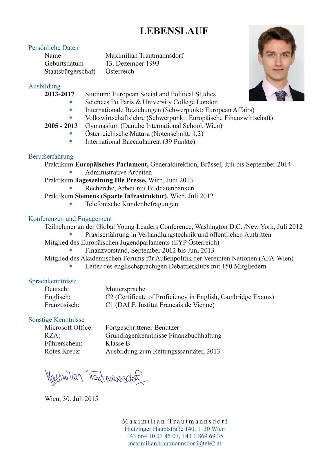 Muster Lebenslauf Student Muster Lebenslauf Für Ingenieure