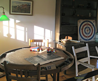 Game Table in Hemingway Barn-Studio