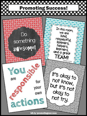 printable classroom posters decorations decor