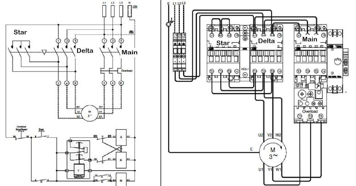 star delta wiring diagram image