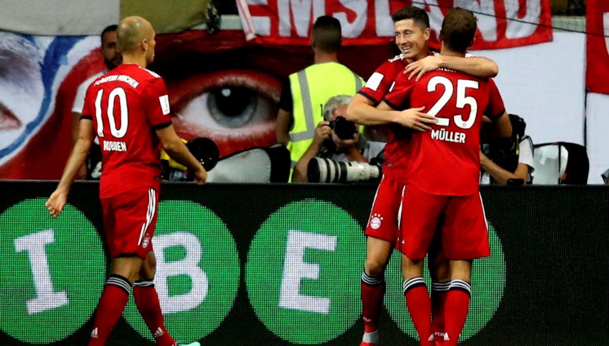 Blistering Reds thrash Frankfurt FC Bayern Munich