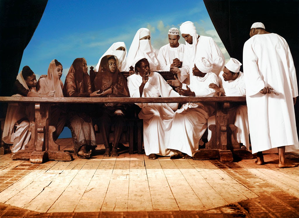 The Last Supper by Faisal Abdu'allah