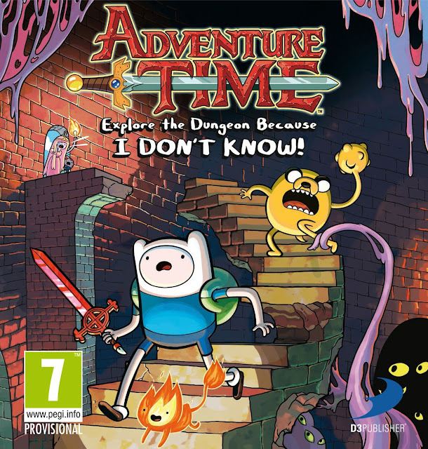 Adventure Time - Explore the Dungeon portada