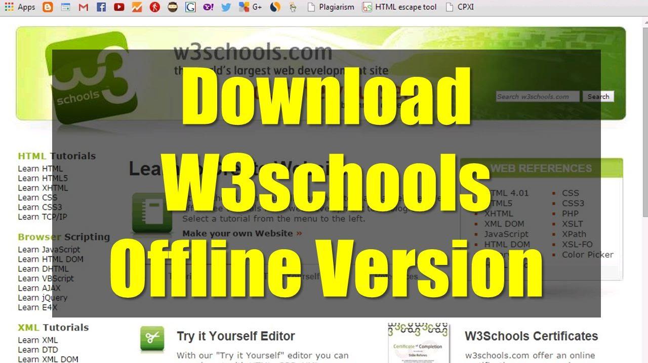 Download w3schools offline version pnshacker learn ethical sql tutorial mysql flash tutorial xml tutorial web host guide seo tutorial e commerce baditri Choice Image