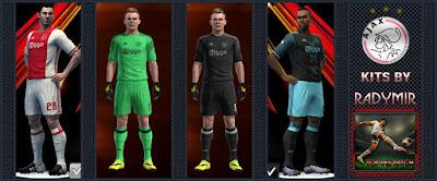 AFC Ajax kits 16-17