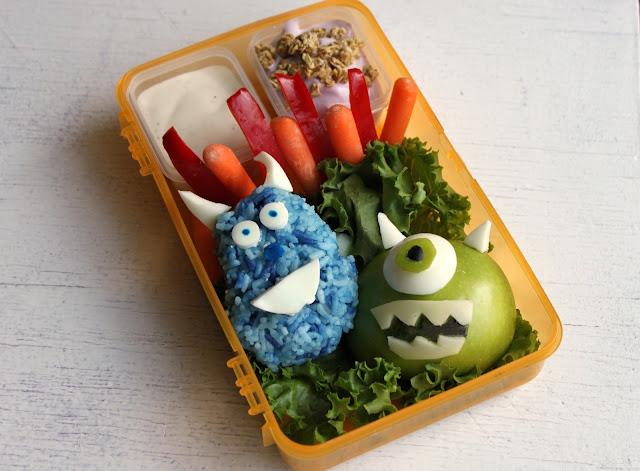 Monsters Inc. Bento