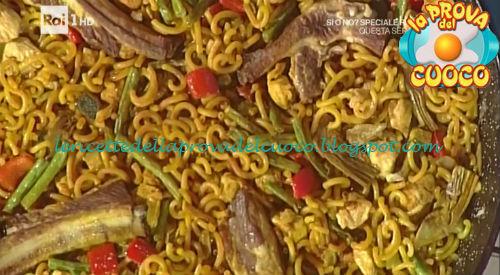 Paella di pasta di Murcia ricetta Povedilla da Prova del Cuoco