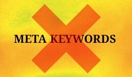 meta keywords tidak perlu untuk seo