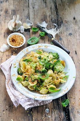 Orecchiette au pesto de brocoli