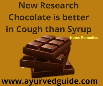 Chocolate is Better in Cough than Syrup