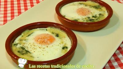 Receta de huevos a la Florentina