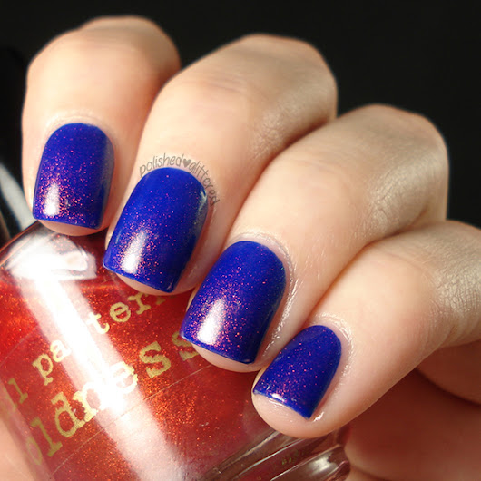Revlon Royal and Nail Pattern Boldness Boop-Oop-a-Dupe (Photo Heavy!)