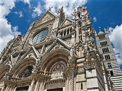 Exterior of the Duomo di Siena