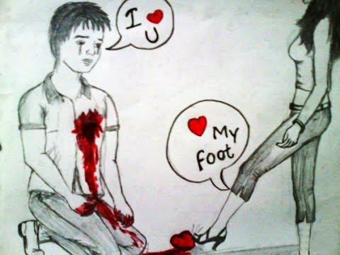 Love Failure Heart Touching Photo for Facebook