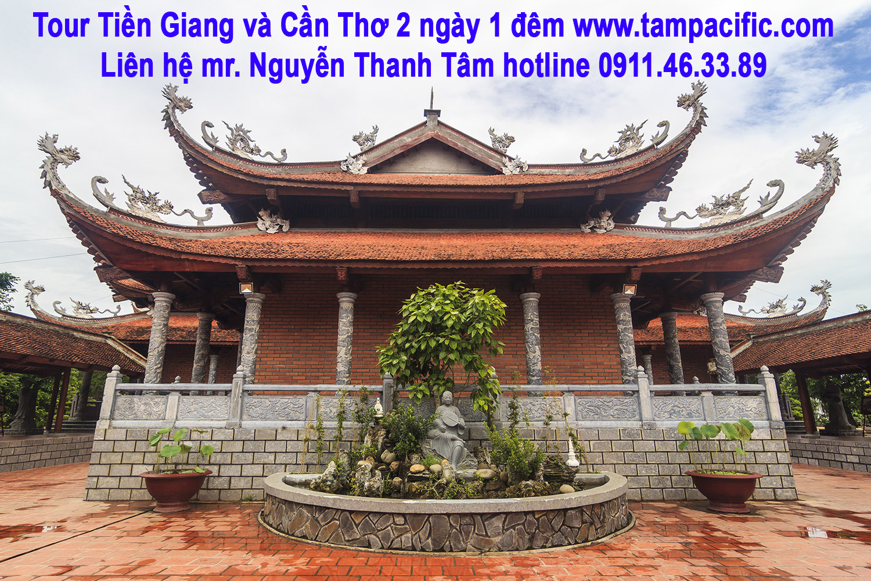 Tour Tiền Giang và Cần Thơ ghé Bến Ninh Kiều