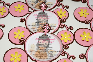 princess belle party invitations
