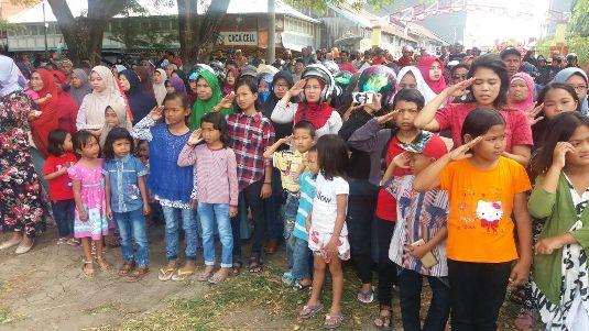 Semangat Kemerdekaan Di Lapangan Pemuda Benteng ,Dan, Lebo Kohala
