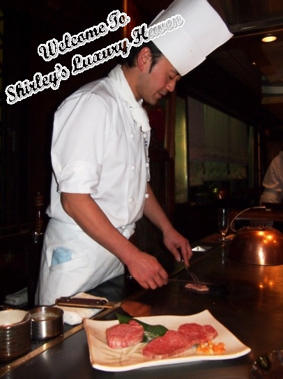 ginza hama steak house japan, teppanyaki