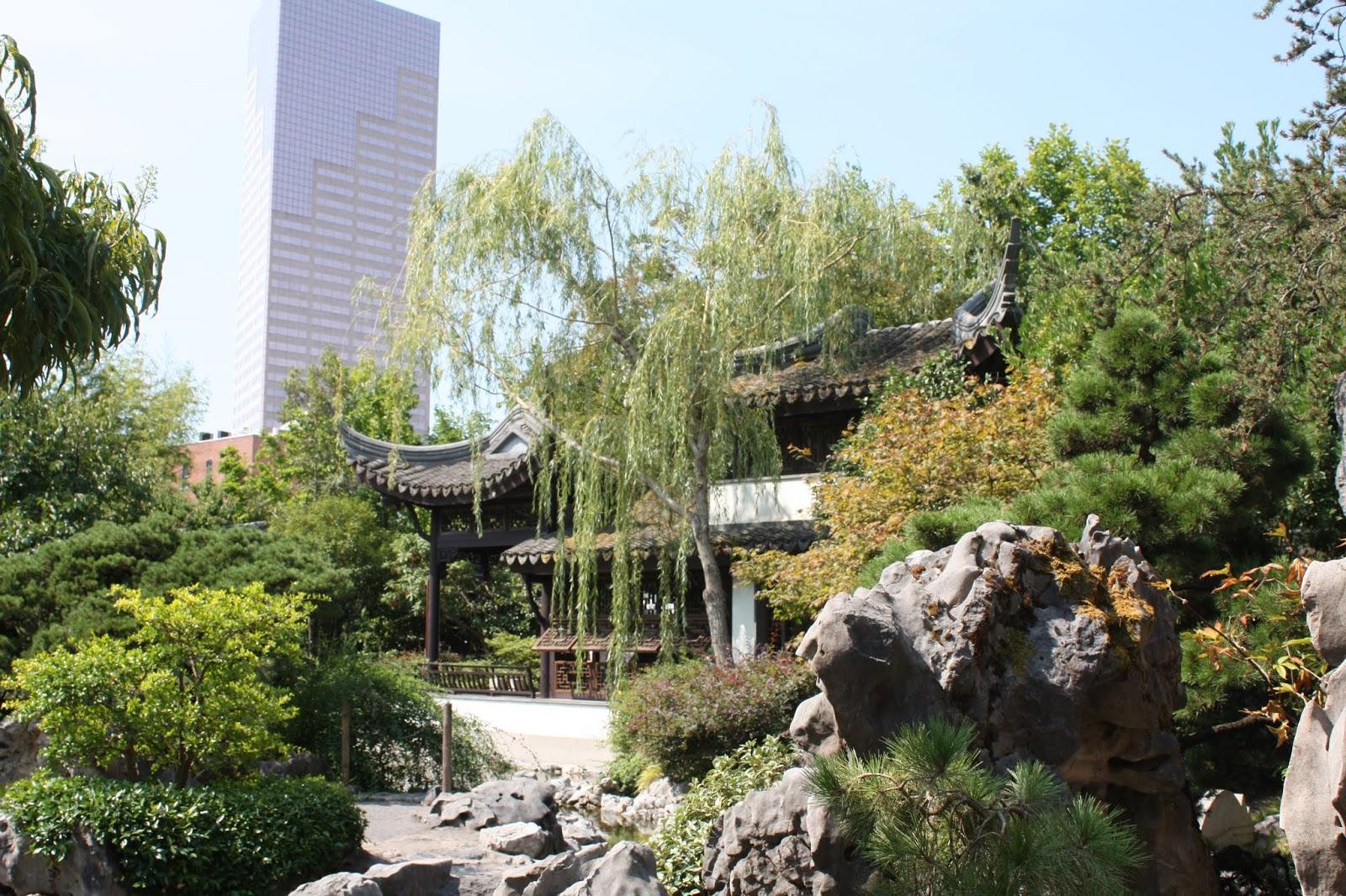 lan su chinese garden in portland oregon - Chinese Garden Portland