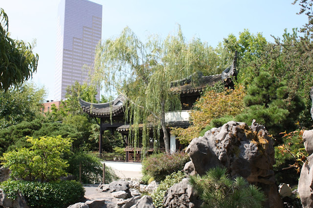 Lan Su Chinese Garden is a walled garden treasure right in Portland, Oregon.