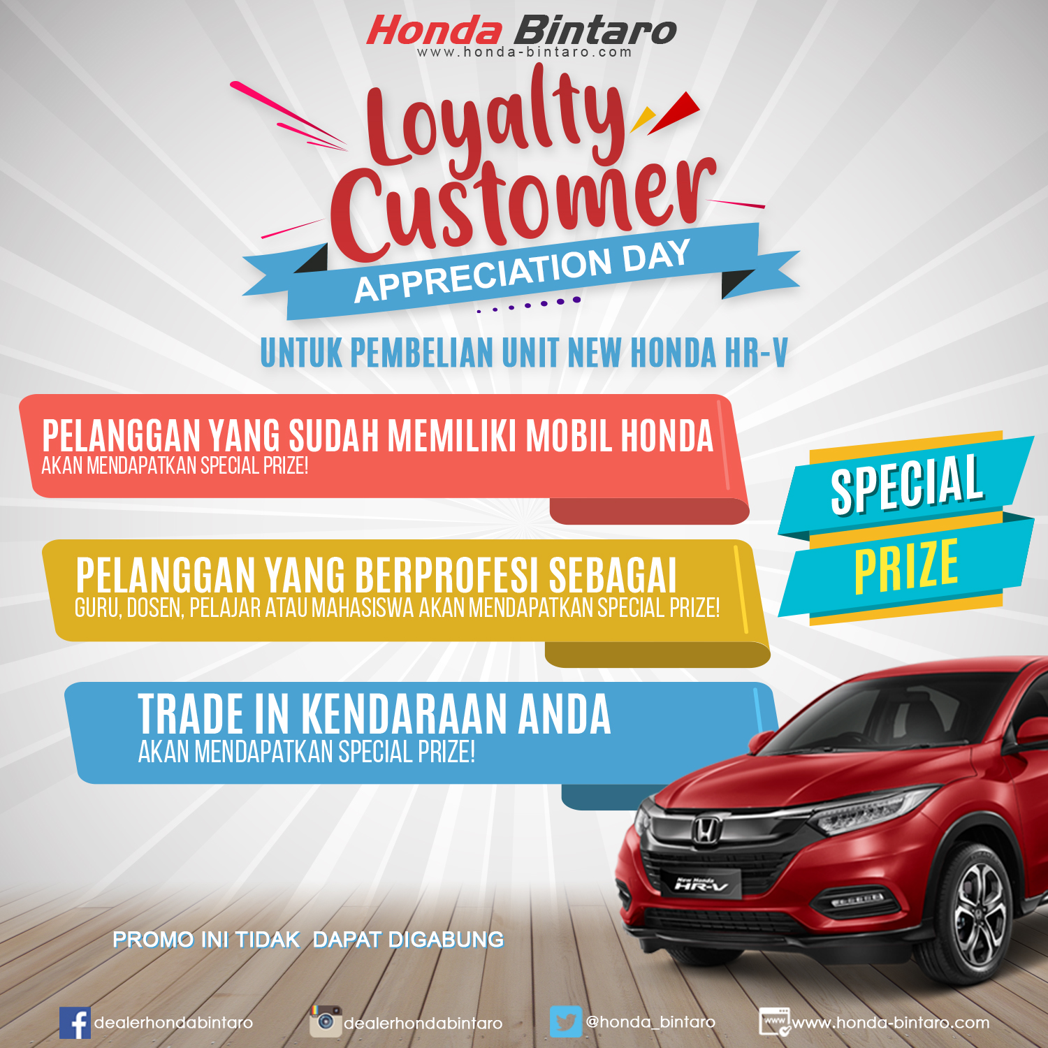Honda Loyalty Customer