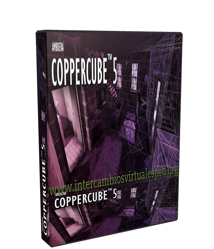Ambiera CopperCube Professional 5.6 poster box cover
