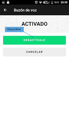Desactivar buzón de voz en Tuenti móvil - Tutorial